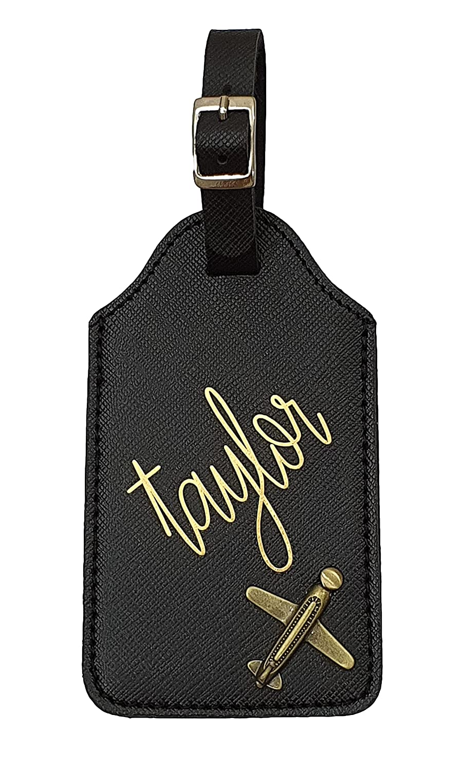 Personalized Luggage Tag Custom Time sale Mono gift Tags