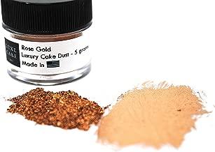 ROSE GOLD Highlighter CAKE DUST, 5 grams, USA Made