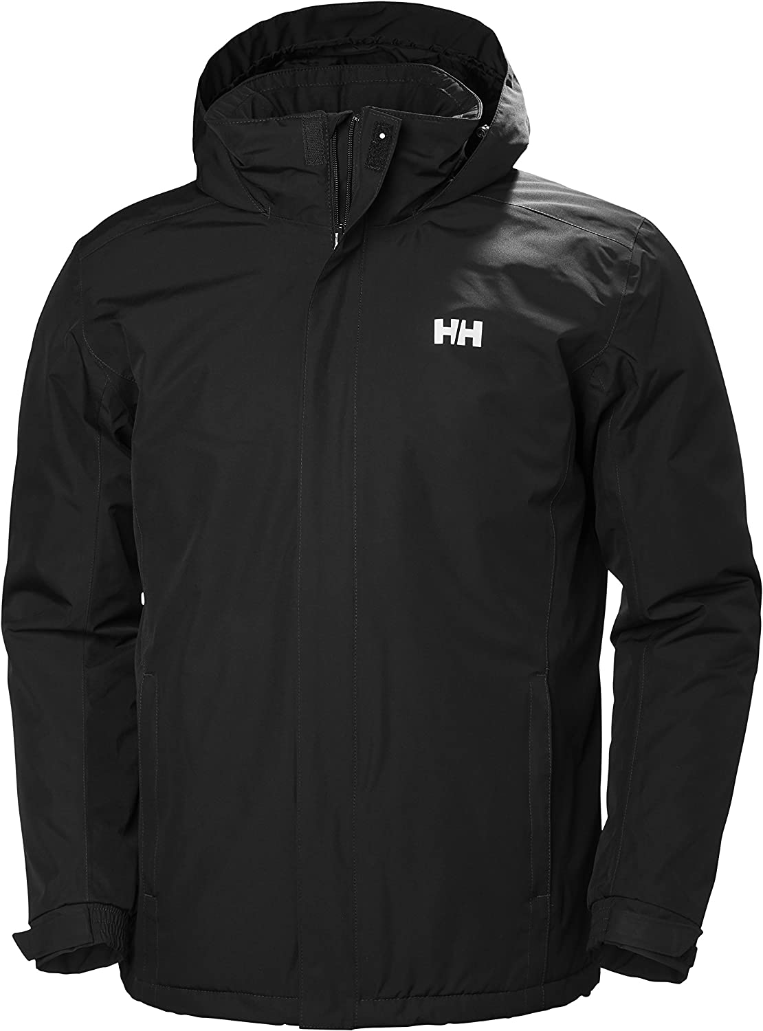 Helly Hansen Men's Waterproof Dubliner Insulated Jacket with Packable Hood for Cold Weather