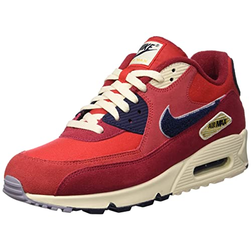 huge discount b3596 971da Nike Men s Air Max 90 Premium SE Running Shoe 10 Red