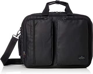 [マジェスティック ミル] ビジネスバッグ 3WAY(手提げ・リュック・ショルダー/キャリー通し付き) ブリーフケース 防水カサ袋付属 MMB0008