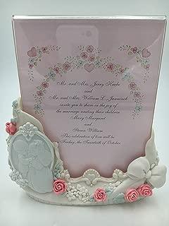 Precious Moments Wedding Invitation Holder, Photo Frame 135720