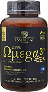 Super Ômega 3 TG 1000 mg - 180 Cápsulas, Essential Nutrition