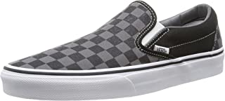 Vans Classic Slip-on Checkerboard, Baskets Mixte Enfant