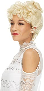 Gibson Girl Wig Color Blonde - Sepia Wigs Upsweep 20th Century Theater Youthful Women Sufferage Bundle MaxWigs Costume Care Booklet