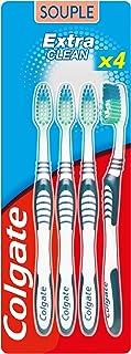 Collage tandenborstel Extra Clean zacht – bevordert een goede gezondheid van de mond – reinigt grondig – bereikt de tanden...