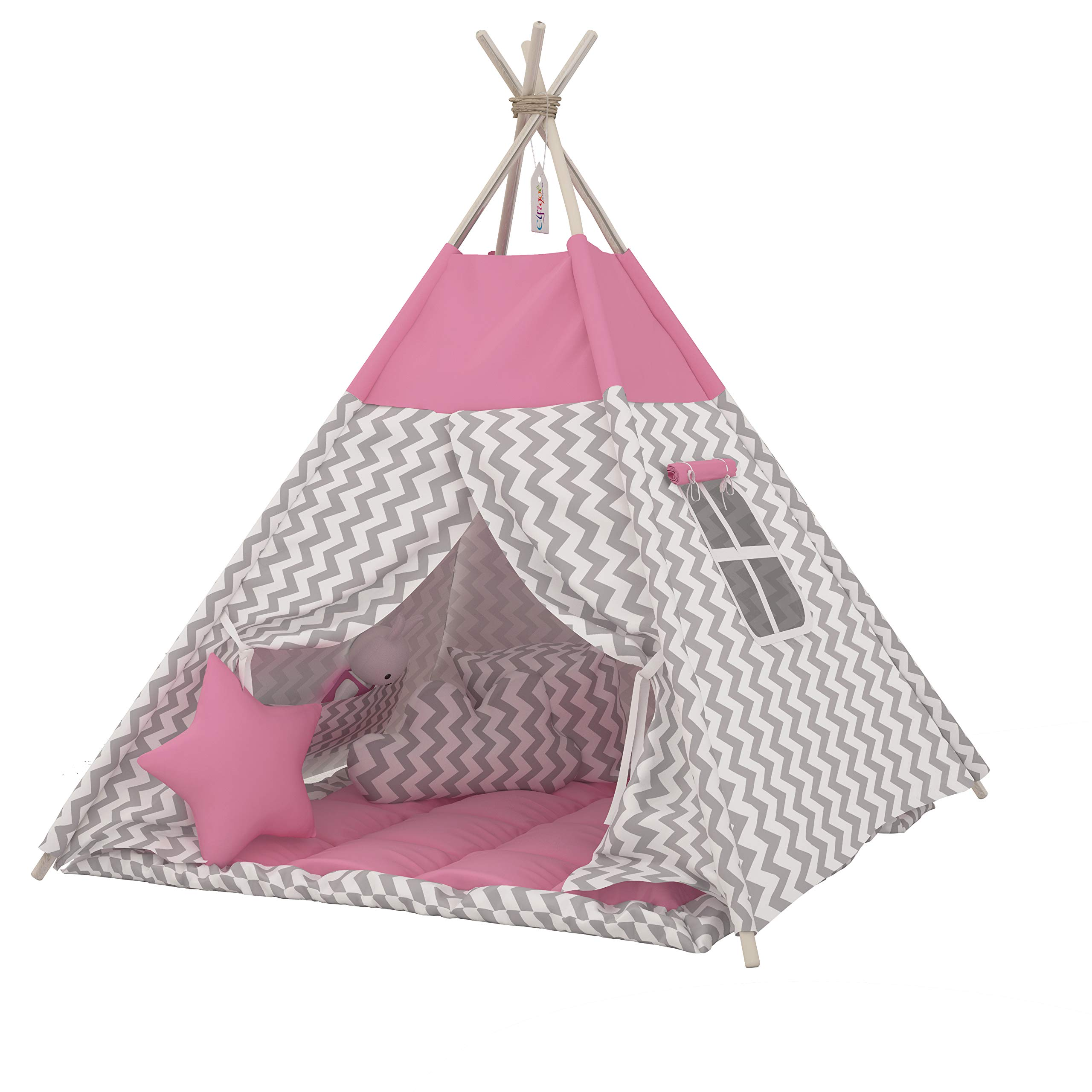 Kids Nook Tents for Indoor /& Outdoor Use Can be used for ten years old MYMM Children tent Princess Castle Play Tent Carrying Case Light blue baby birthday gift