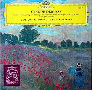 Violin Sonata / Cello Sonata / Sonata For Flute, Viola And Harp / Syrinx For Flute Solo [Vinyl LP record]
