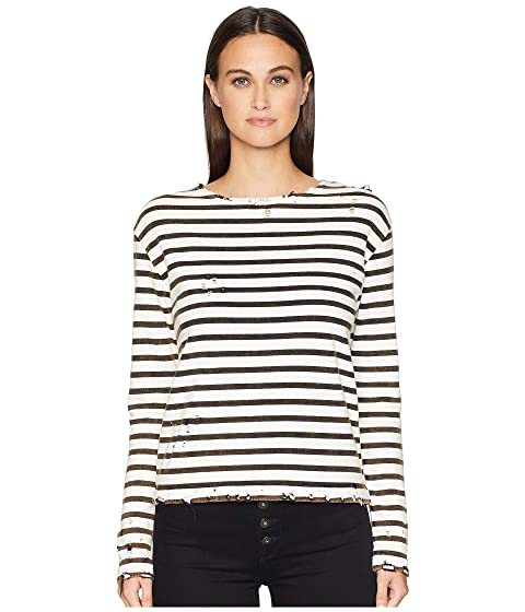 R13 Breton Long Sleeve T-Shirt
