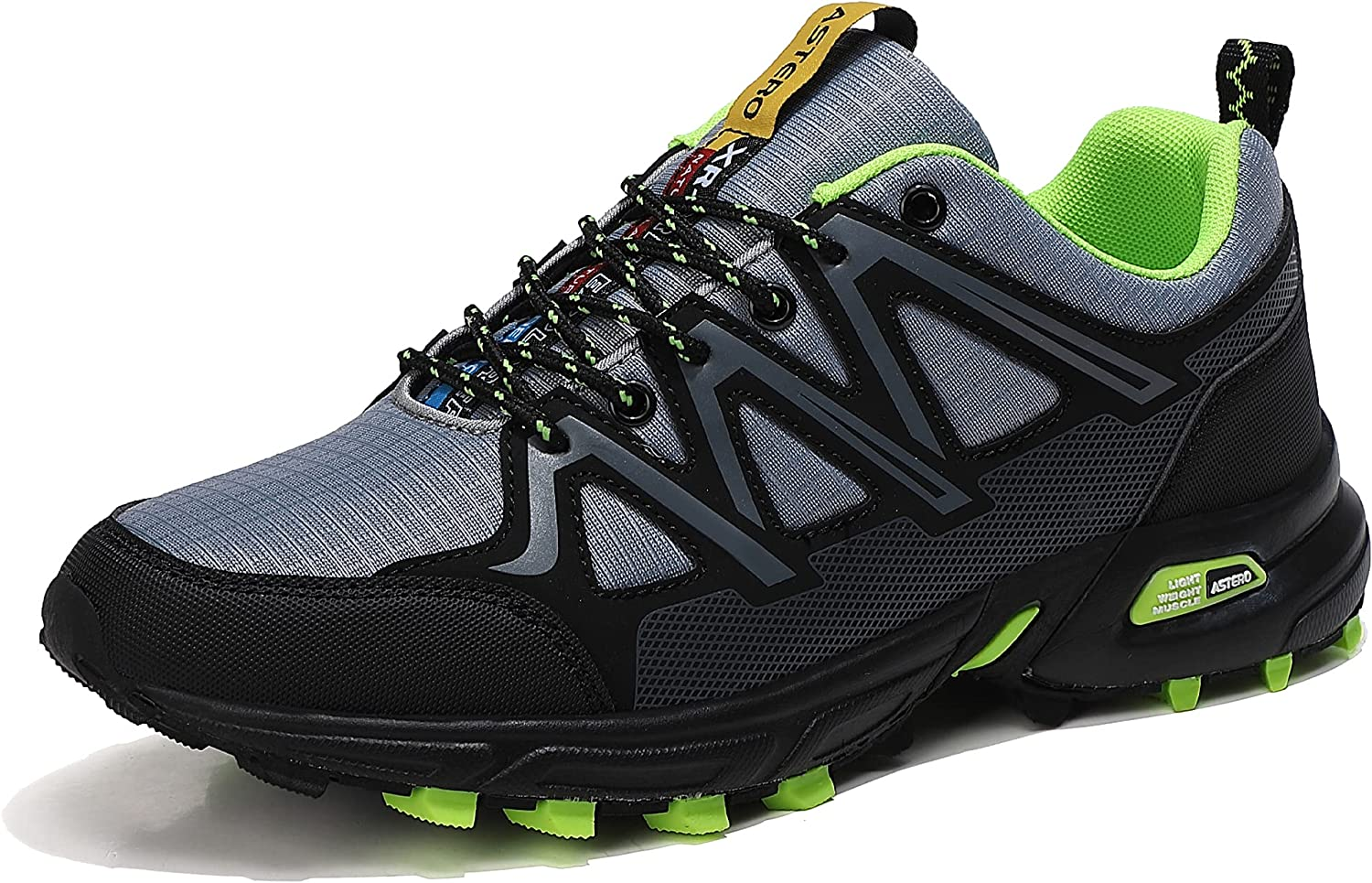 AX BOXING Men's Rapid rise Some reservation Trail Running Shoes Anti-Skid Athl Walking