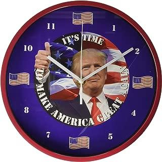 President Trump Talking Clock! Let's Make America Great Again!