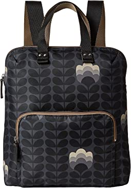 Orla Kiely - Buttercup Stem Printed Backpack Tote