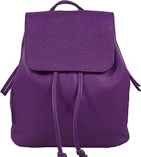 Ital. Echtleder Damen Rucksack Leichter Tagesrucksack Daypack Lederrucksack Damenrucksack versch. Farben erhältlich