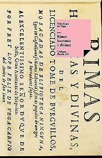 Rimas humanas y divinas (Poesía nº 145) (Spanish Edition)