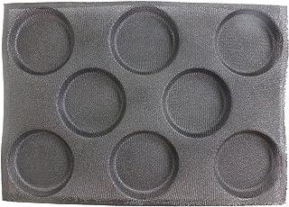 Baker Boutique Moule à Pain en Silicone Anti-adhésif réutilisable Moule Forme perforé de 8 moules