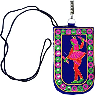 Latest Designs Mobile Sling Bag with dori for all Mobiles((W*H): 17 * 12 Cm)