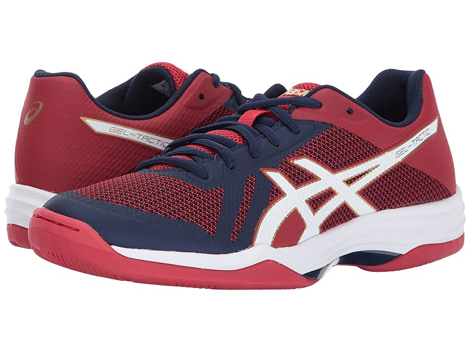 ASICS Gel-Tactic 2 (Indigo Blue/White/Prime Red) Women