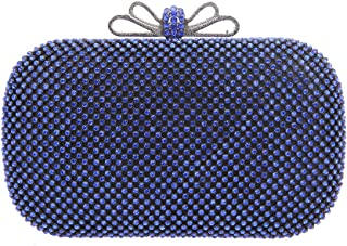 Bow Clutch Purse Rhinestone Evening Bags And Clutches For Women