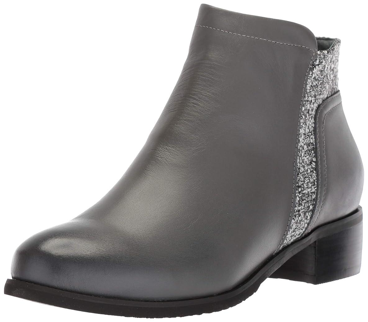 モルヒネアテンダントパンツ[Propet] Women's Taneka Charcoal Ankle-High Leather Boot - 7.5W
