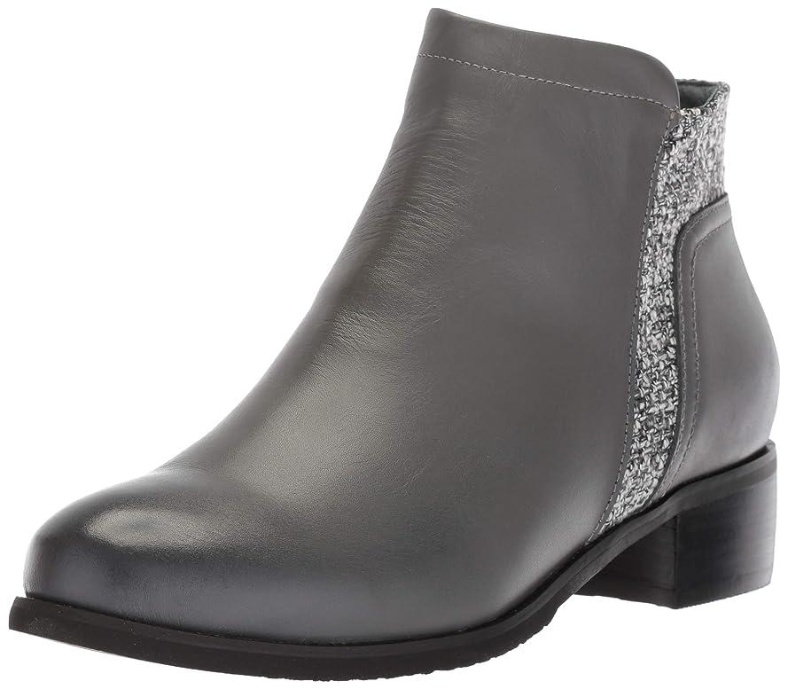 引用懲戒物理的に[Propet] Women's Taneka Charcoal Ankle-High Leather Boot - 6.5W