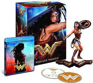 Wonder Woman (Blu-Ray 3D + Figura) - Edición Coleccionista - Edición Exclusiva Amazon [Blu-ray]