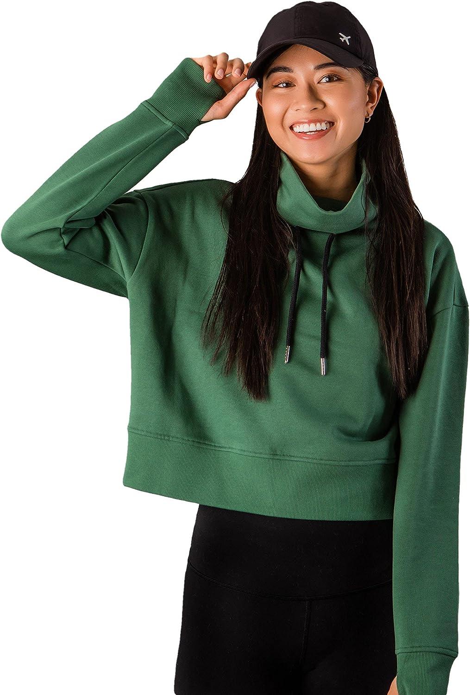Getaway Discount mail order Cropped Limited price sale Sweatshirt