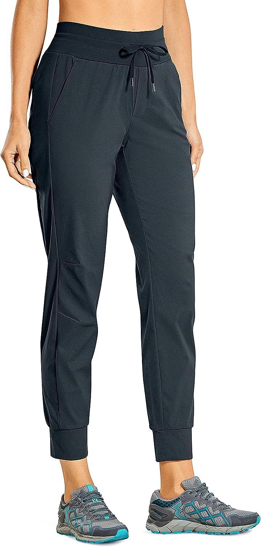 CRZ Same day shipping YOGA Women's Hiking Pants Dry Quick Lightweight J Year-end gift Drawstring