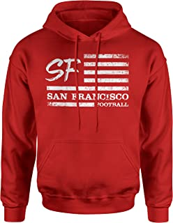 Sponsored Ad - INKpressionists San Francisco Football Fans SF Nation Flag Classic Adult Hoodie