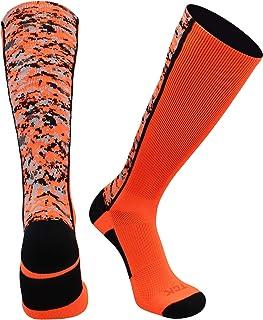 TCK Digital Camo Athletic Socks - Baseball Football Basketball Lacrosse - for Boys or Girls Men or Women
