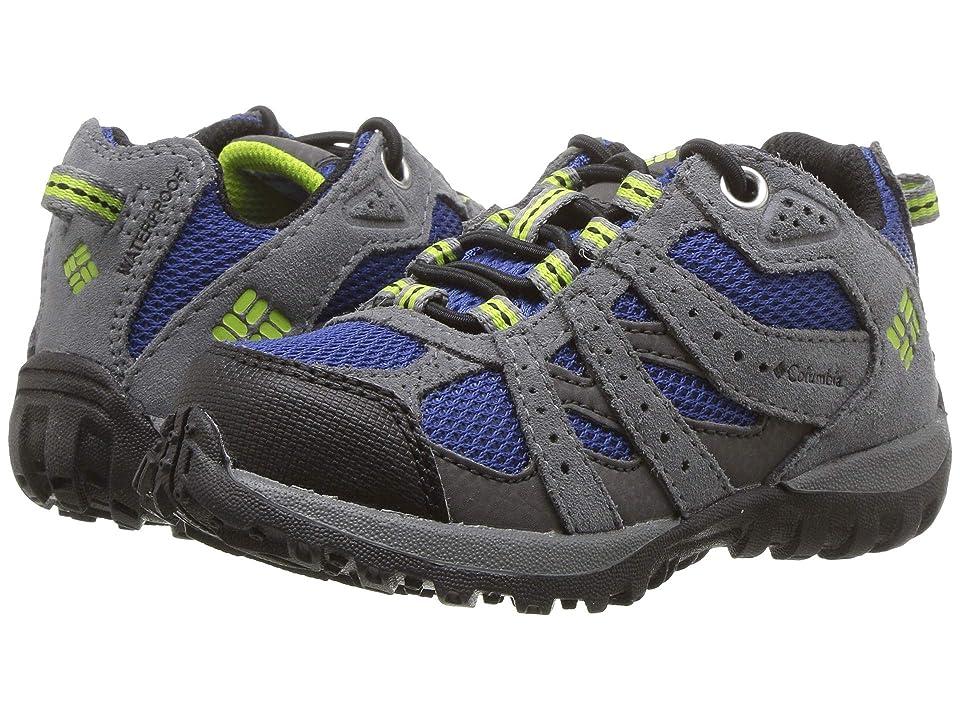 Columbia Kids Redmond Waterproof (Toddler/Little Kid) (Azul/Bright Green) Boys Shoes