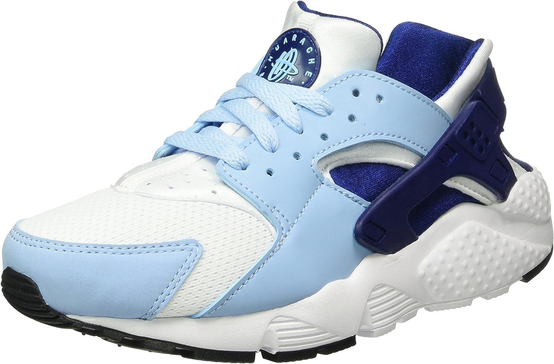 Nike Huarache Run GS LTD Rarity Running Shoes Sneaker White/Blue