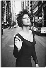 Poster #04 Linda Evangelista 90s Model Pin Up Erotic Poster 36x48 inch More Sizes Available Canvas Frame