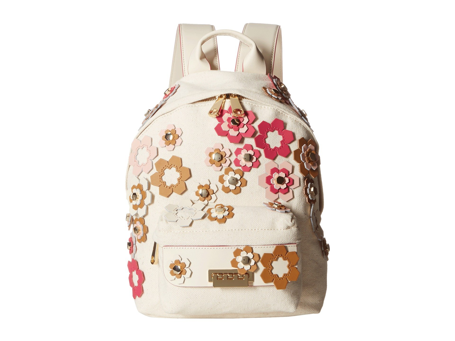 Mochila para Mujer ZAC Zac Posen Eartha Small Backpack - Hex Floral Applique  + ZAC Zac Posen en VeoyCompro.net