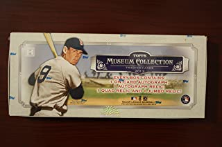 2013 Topps Museum Collection Baseball box (4 pk HOBBY)