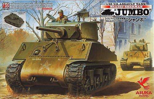calidad fantástica Asuka Tas 35021 Maqueta de U.S. Assault Assault Assault Reservorio m4a3e2Sherman, Jumbo  venta al por mayor barato