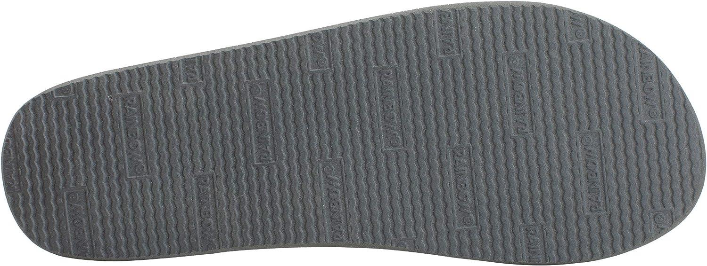 Rainbow Mens Single Layer Classic Rubber flip Flops