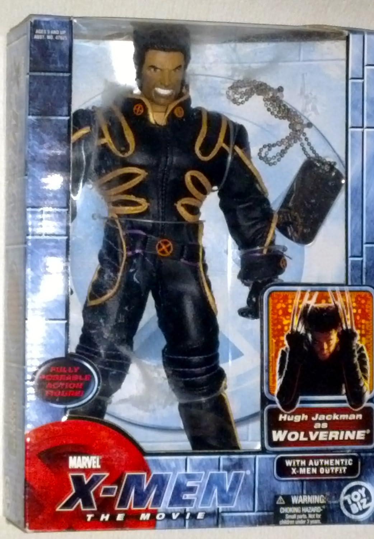 Toy Biz Xmen the Movie Wolverine Logan (Hugh Jackman)
