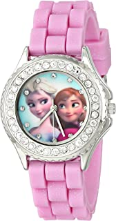 Kids' FZN3554 Frozen Anna and Elsa Rhinestone-Accented...