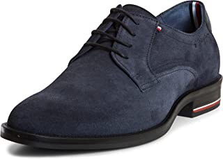 Tommy Hilfiger Signature Hilfiger Suede Shoe, Men Shoes