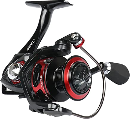RUNCL Spinning Reel TITAN I, Fishing Reel with Full Metal...