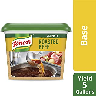 Knorr Professional Ultimate Beef Stock Base Gluten Free, No Artificial Flavors or Preservatives, No added MSG, Colors from Natural Sources, 1 lb, Pack of 6