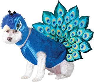 Multi_Peacock Dog Costume