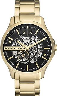 Armani Exchange Reloj Analógico para Hombre. de Cuarzo con Correa en Acero Inoxidable AX2419