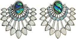 Lucky Brand - Stone Chandelier Drama Earrings