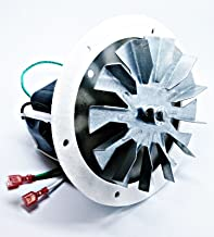 fireplace repl parts (New Part) US Stove King Combustion Exhaust Fan Motor Blower 80473 + 4 3/4