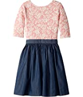 fiveloaves twofish - Charleston in Pink Dress (Little Kids/Big Kids)