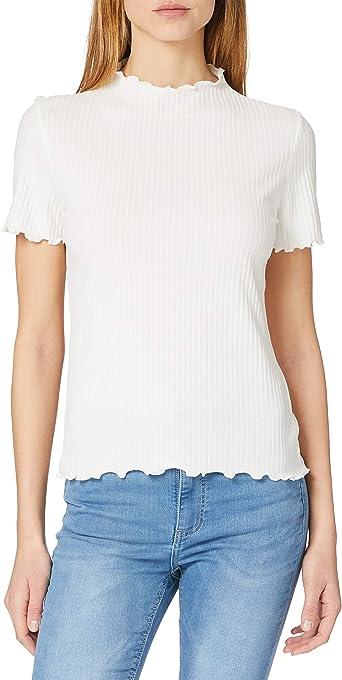 Only Onlemma S/S Highneck Top Noos Jrs T-Shirt Donna