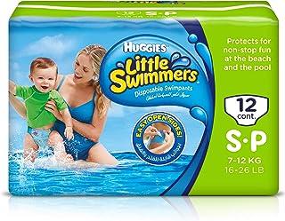 HUGGIES LITTLE SWIMMER, Swim Pants Diaper, Small, 12 Swim Pants