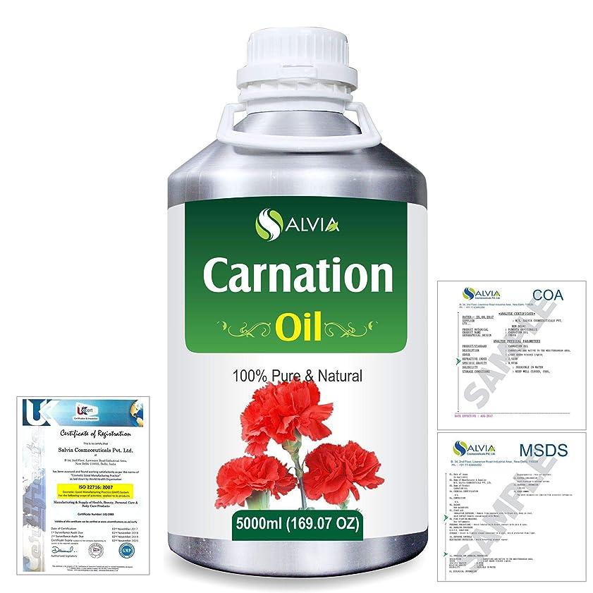 長方形文明化短命Carnation (Dianthus caryophyllus) 100% Natural Pure Essential Oil 5000ml/169fl.oz.