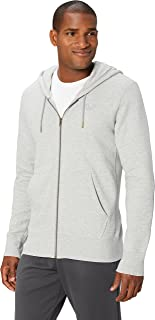 Peak Velocity Men's Heavyweight Fleece Full-Zip Athletic-Fit Hoodie